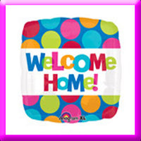 "18"" Welcome Home  Foil Balloon"