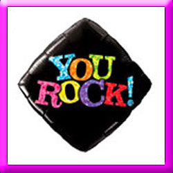 "18"" You Rock Foil Balloon"
