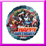 18in Birthday Avengers Super Hero Balloon