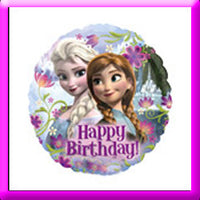 "18"" Frozen Birthday Foil Balloon"