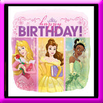 "18"" Square Disney Princess Foil Balloon"