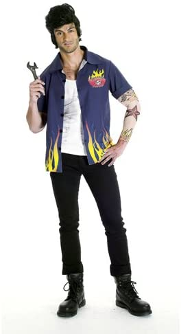 Paper Magic 50s Greaser Adult Halloween Costume