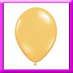 "11"" Chrome Gold Latex Balloon"
