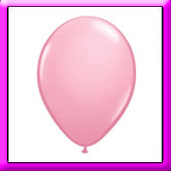 "11"" Pink Latex Balloon"