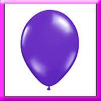 "11"" Purple Latex Balloon"