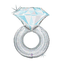 "37"" Diamond Ring SuperShape Foil Balloon"