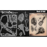 Wiser's Rock And Roll Tattoo Pro Stencil 2