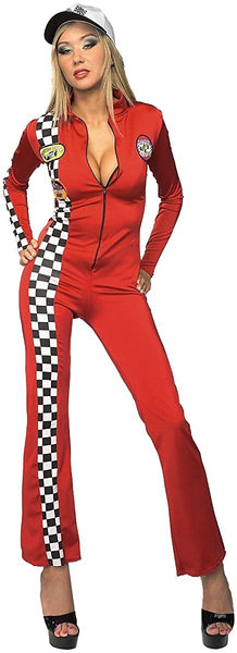 Rubies Costume Secret Wishes Costume Sultry Racer Halloween  Costume Adult Standard