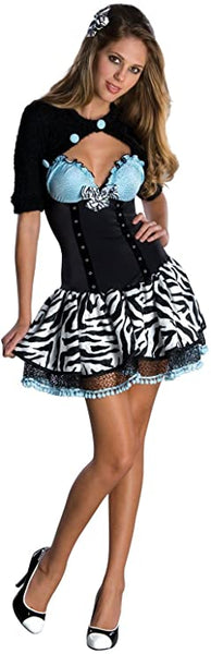 Secret Wishes women's rockabilly Adult Halloween Costume size small