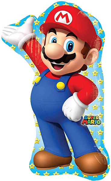 Super Mario Foil SuperShape Balloon 33""