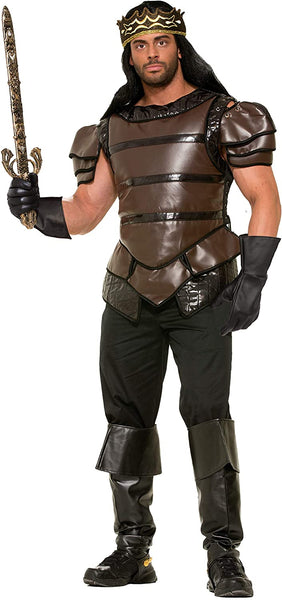 Medieval Fantasy King's Armor Adult Halloween Costume X-Large