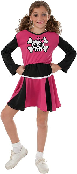 Rubies Costume Sensations Pink Cheerleader Costume, Large