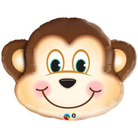 Monkey Face SuperShape Balloon