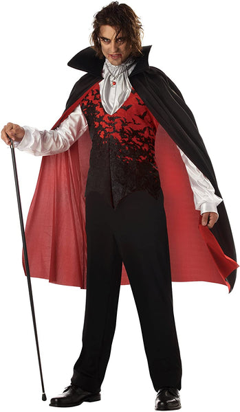California Costumes Men's Prince Of Darkness Halloween Costume Adult Plus