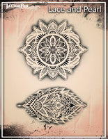 Wiser's Lace & Pearls Tattoo Pro Stencil 2