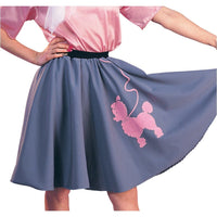 Grey Poodle Skirt - Adult Med
