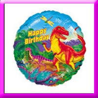 "18"" Birthday Dinosaur Balloon"