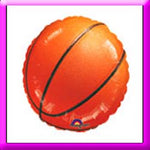 18in Basketball Balloon