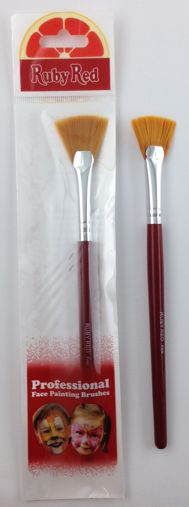Ruby Red - Fan Brush