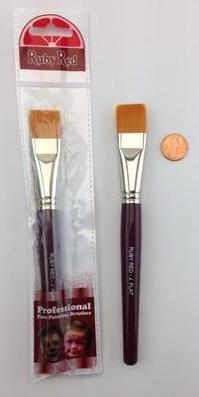Ruby Red - Jumbo Flat Brush