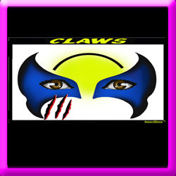 Claws Stencil Eyes