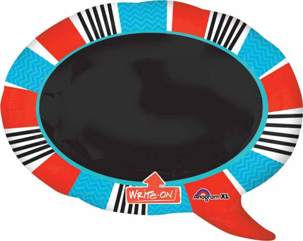 "24"" Wright on Speech Bubble SuperShape Balloon"