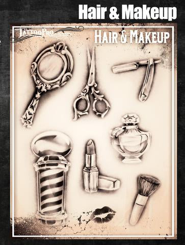 Wiser's Hair and Makeup Tattoo Pro Stencil