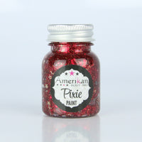 Drop Dead Red Pixie Paint Glitter   -  1 ounce