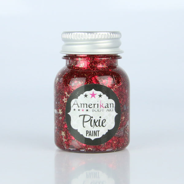 Drop Dead Red Pixie Paint  -  1 ounce
