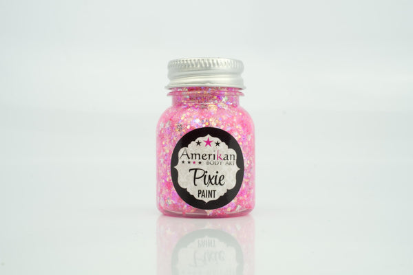 Pretty In Pink  Pixie Paint Glitter -  1 ounce