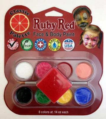 Ruby Red Classic Palette