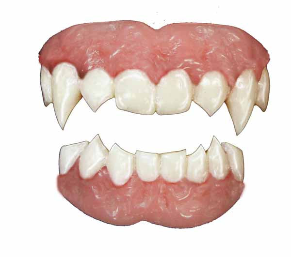 Tinsley FX Teeth Vampire Fangs - Halloween Special FX