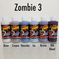 PROAIIR HYBRID WATERPROOF MAKEUP 2oz - ZOMBIE 3 COLOR 6 PACK