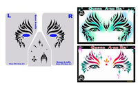 Queen A-nu Ra Stencil Eyes - Adult