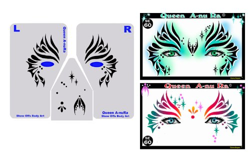 Queen A-nu Ra Stencil Eyes - Child