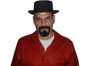 Rasta Imposta Men's Breaking Bad Heisenberg Kit Halloween Costume