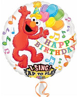 "28"" ELMO Happy Birthday  SING A TUNE Balloon"