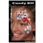 Christmas Candy Elf - Profile Stencil