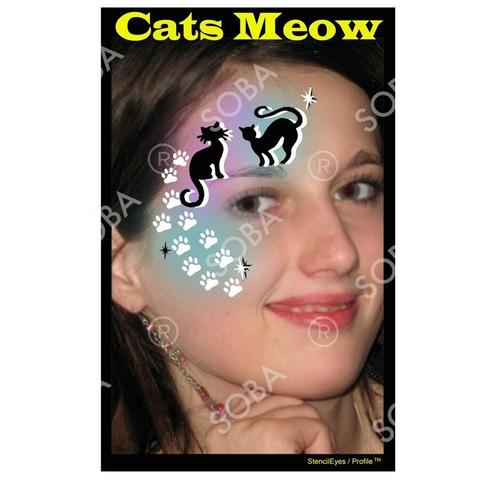 Cats Meow - Profile Stencil