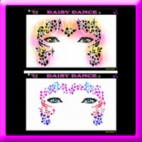 Daisy Dancer Stencil Eyes - Adult