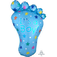 It's a Boy Foot SuperShape Balloon