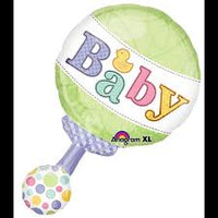 Baby Rattle SuperShape Balloon Clearance
