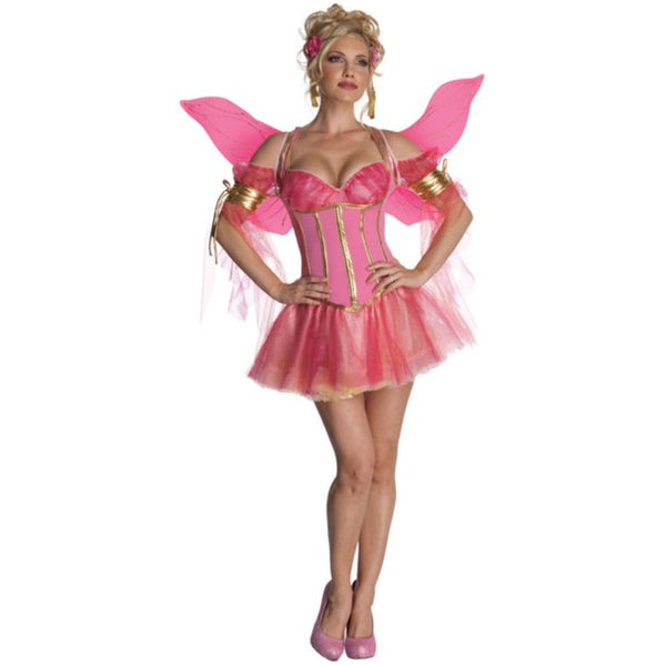 Secret Wishes Enchanted Fairy Halloween Costume Pink Adult Medium