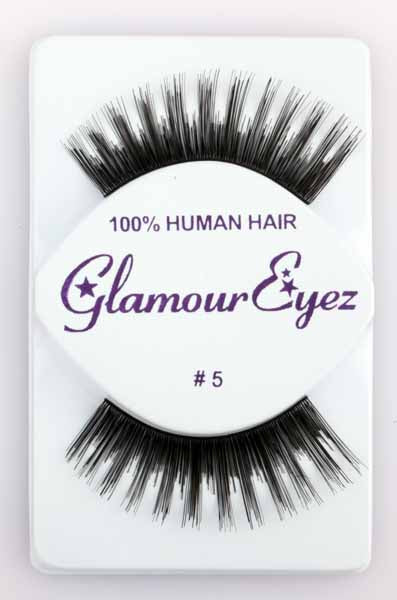 Glamour Eyez Black Eyelashes Halloween Costume Accessory #5