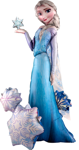 "57"" Elsa Frozen Airwalker Balloon - Clearance"