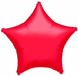 20in Ruby Red Star Balloon
