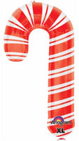 "HOLIDAY CANDY CANE 37"" Balloon"