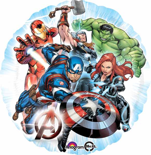 "18"" Avengers Assemble Balloon"
