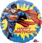 "18"" Superman Birthday Balloon"