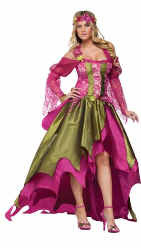 RENAISSANCE Fairy  NYMPH Adult Halloween COSTUME Size 12-14